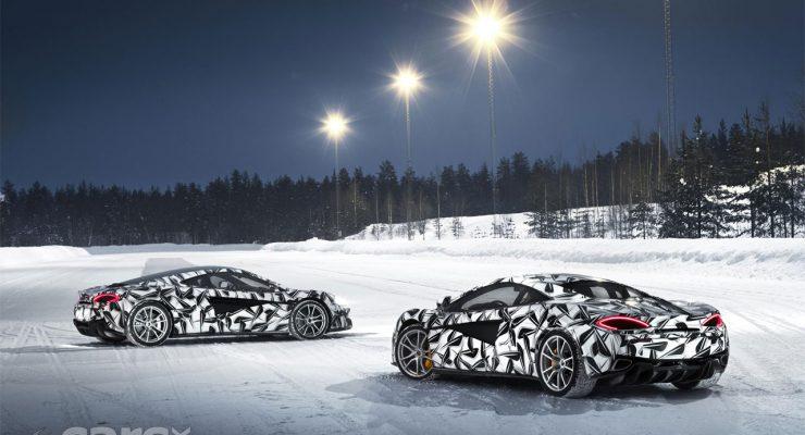 Photo McLaren 570S Ice Driving