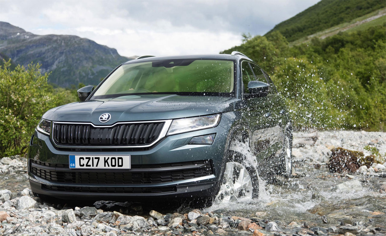 new skoda kodiaq suv 5 engines 4 trim levels and uk prices from 21 495 cars uk. Black Bedroom Furniture Sets. Home Design Ideas