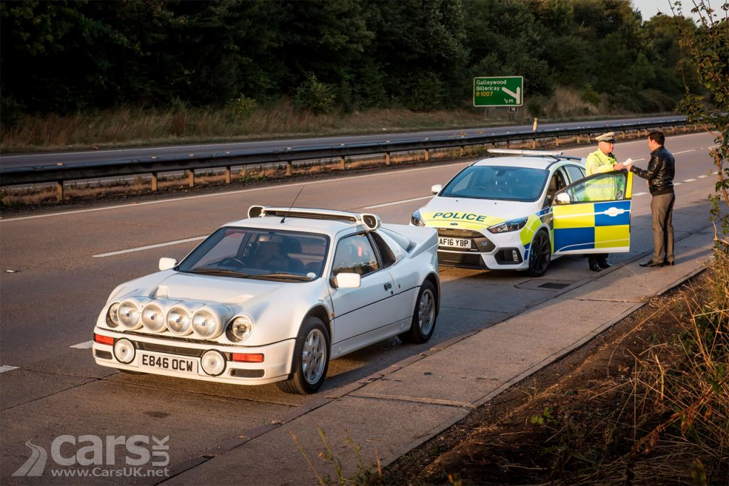 Photo Police Ford Focus RS and RS200