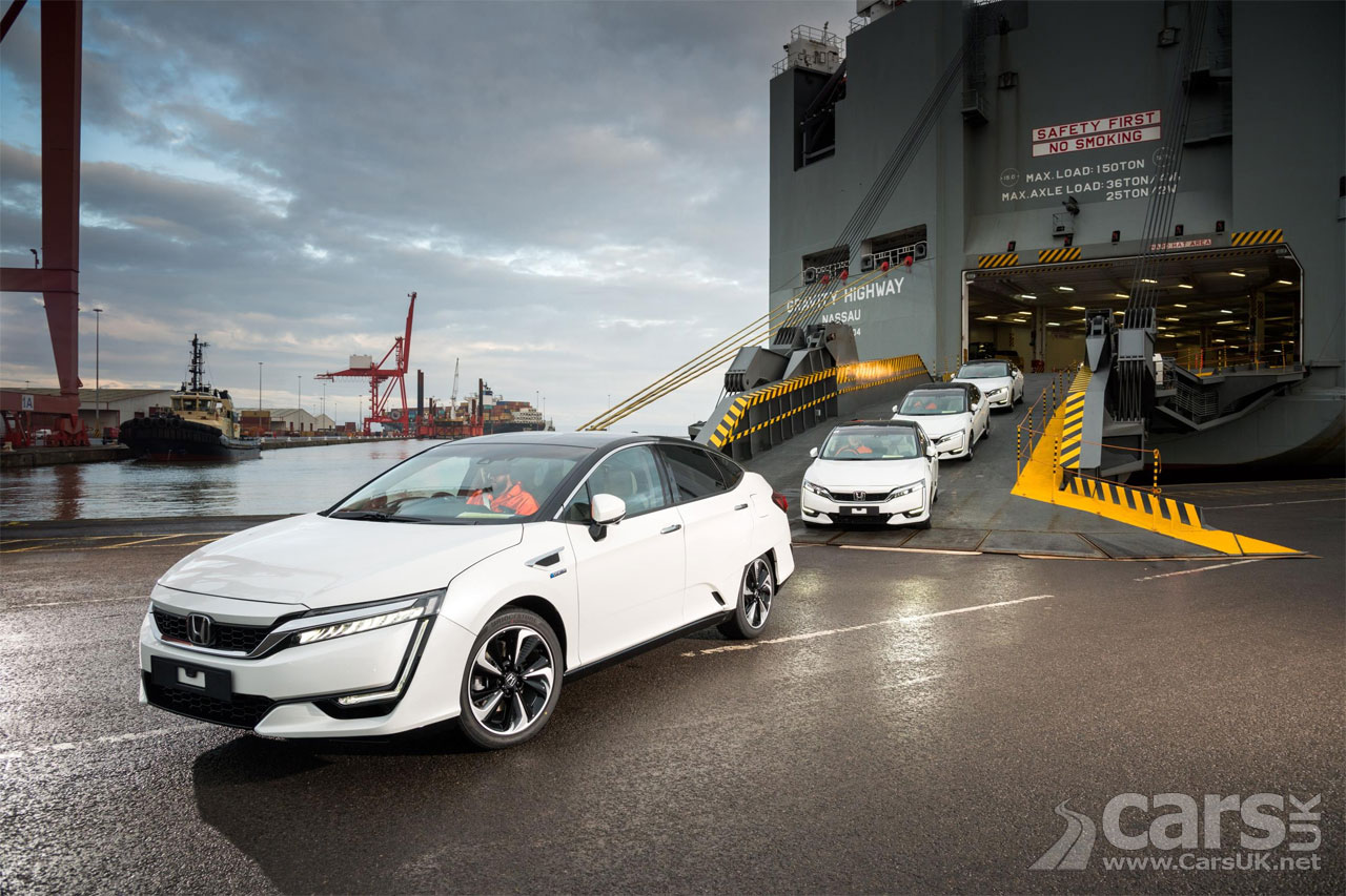First Honda Clarity Fcv Hydrogen Cars Arrive In The Uk Cars Uk