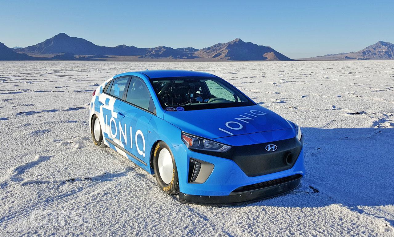 hyundai ioniq hybrid   fastest hybridin  world video cars uk