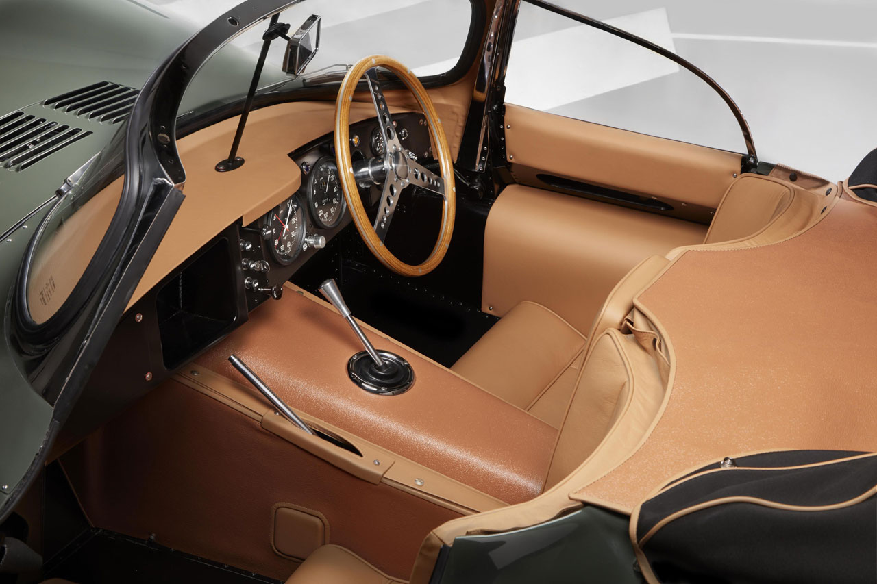Photo Jaguar XKSS Continuation Interior