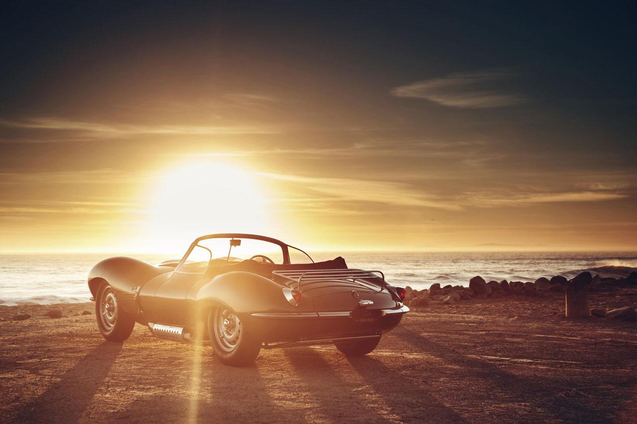 Photo Jaguar XKSS Continuation rear view