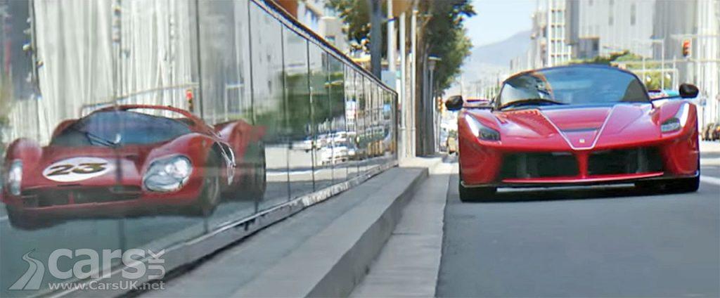 Photo LaFerrari Aperta promo video with Sebastian Vettel