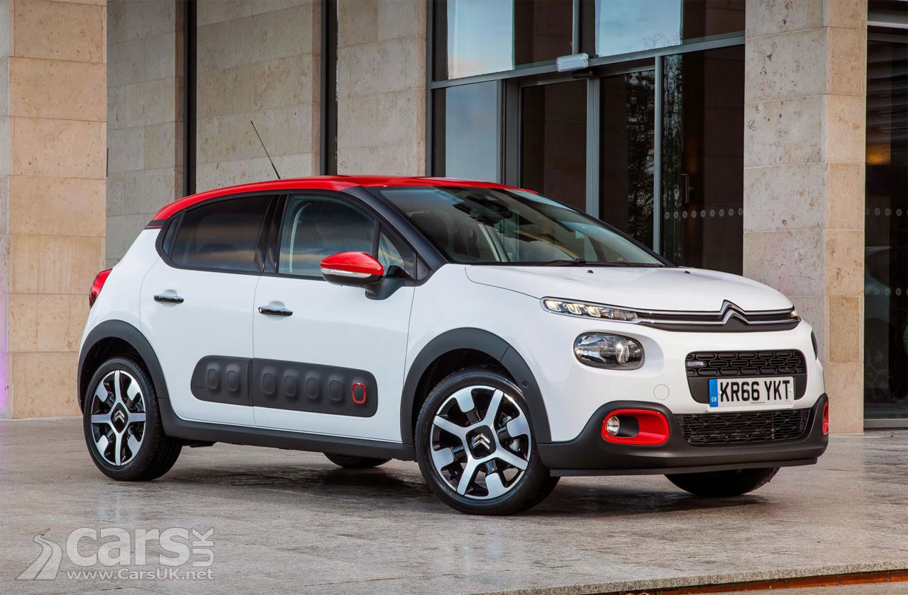 new 2017 citroen c3 costs from 10 995 for the c3 touch in. Black Bedroom Furniture Sets. Home Design Ideas
