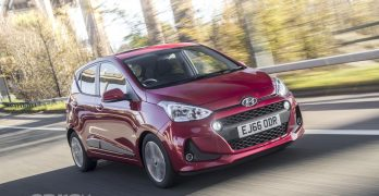 2017 Hyundai i10 costs from £9,250 in the UK for the for the i10 S