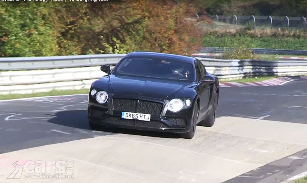 Photo 2018 Bentley Continental GT & GTC Spy