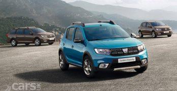 2017 Dacia Sandero, Sandero Stepway and Logan on sale in the UK from £5,995