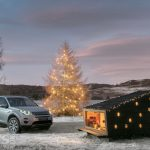 Land Rover Discovery Sport carries Land Rover's custom SANTA Cabin (+video)