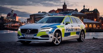 Volvo V90 is the PERFECT police car – just ask the Swedish Police