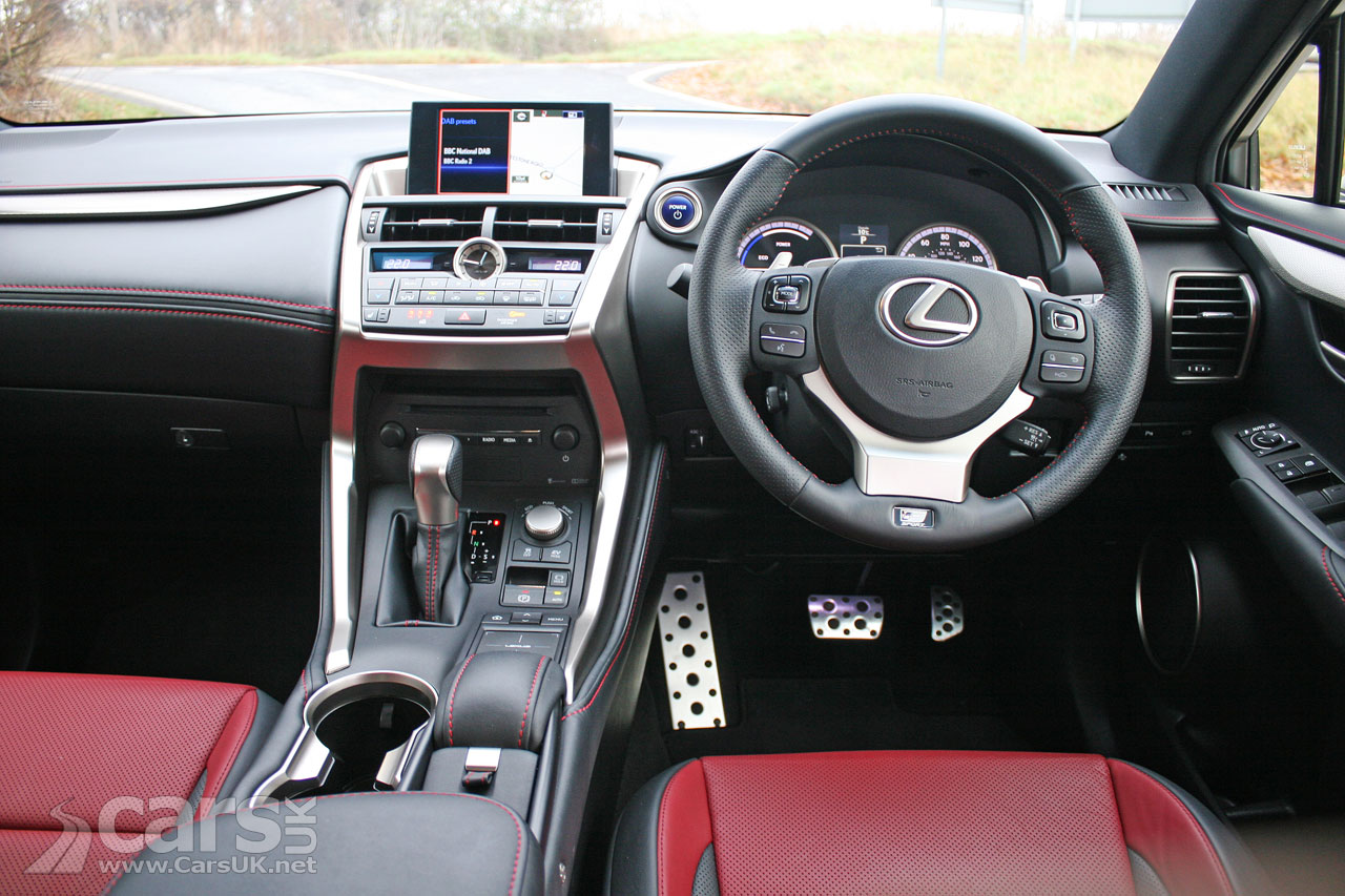 2018 Lexus Nx F Sport Review Price >> Lexus NX300h F Sport Review (2017) - the Lexus to take on the Range Rover Evoque | Cars UK