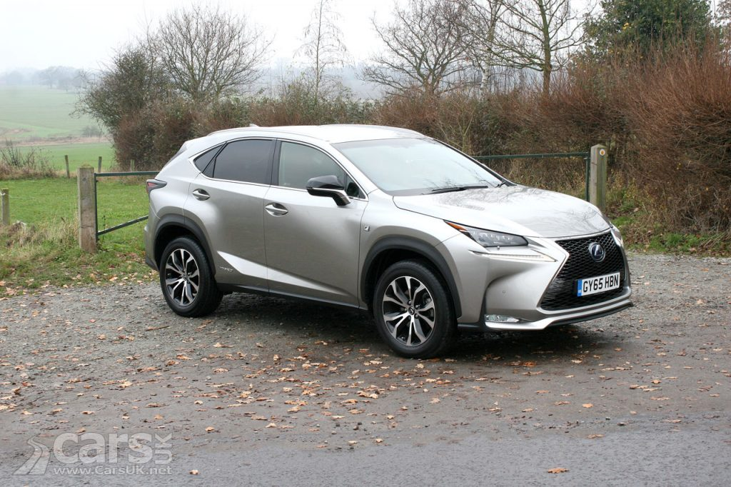 Photo 2017 Lexus NX 300h F Sport Review