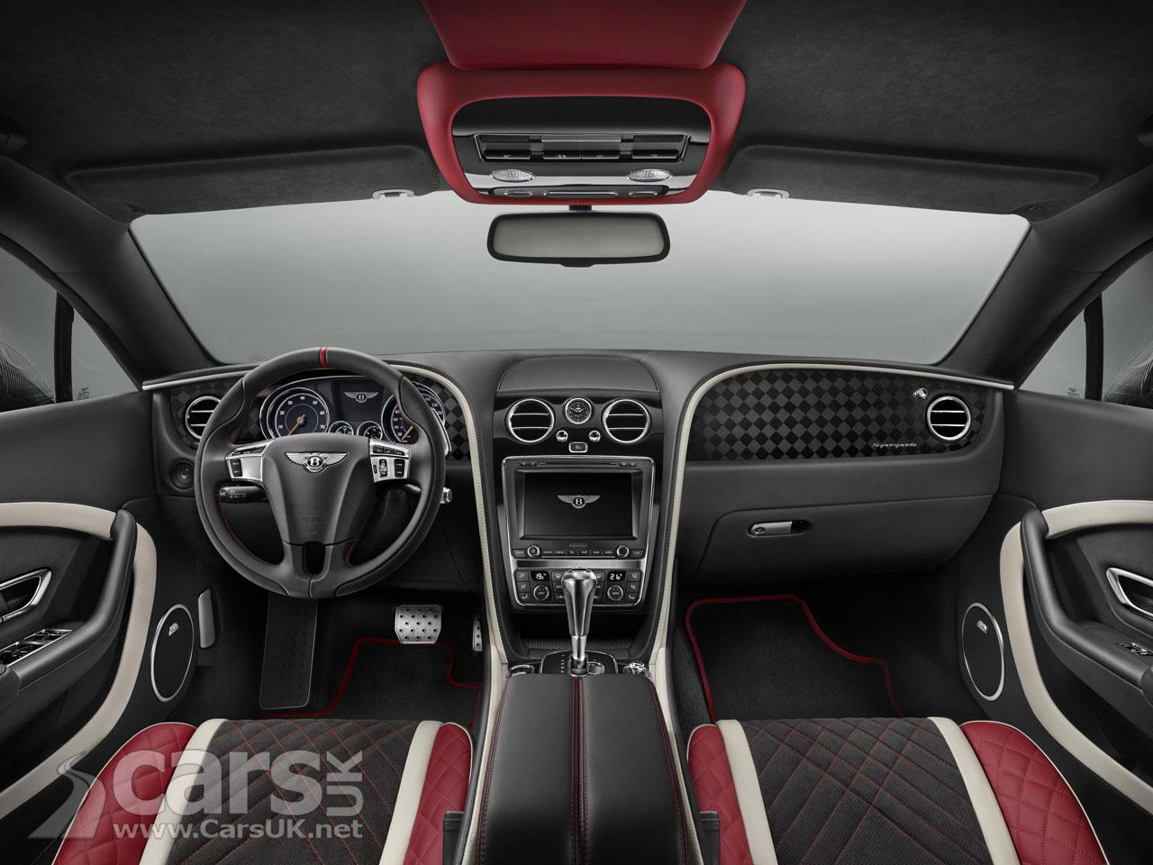 Photo 2017 Bentley Continental Supersports Interior