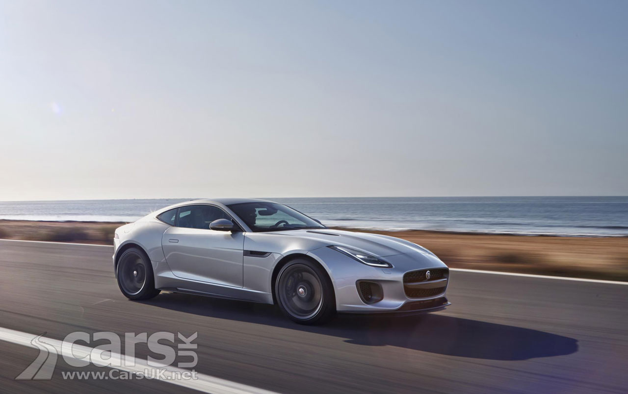 Photo 2017 Jaguar F-Type facelift