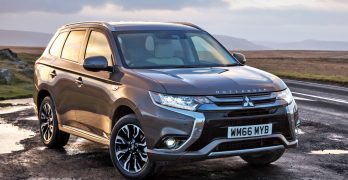 Mitsubishi Outlander PHEV updated for 2017 – price from £34,749
