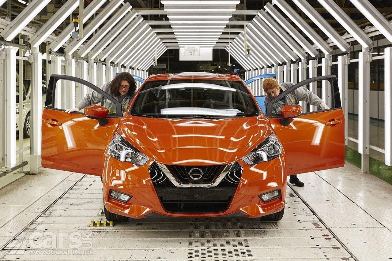 Photo 2017 Nissan Micra production starts