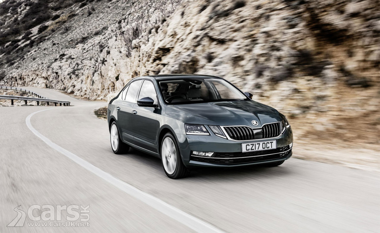 2017 skoda octavia on sale in the uk priced from 17 055 cars uk. Black Bedroom Furniture Sets. Home Design Ideas