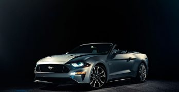 Ford Mustang and Mustang Convertible get more V8 power and a bit of a facelift