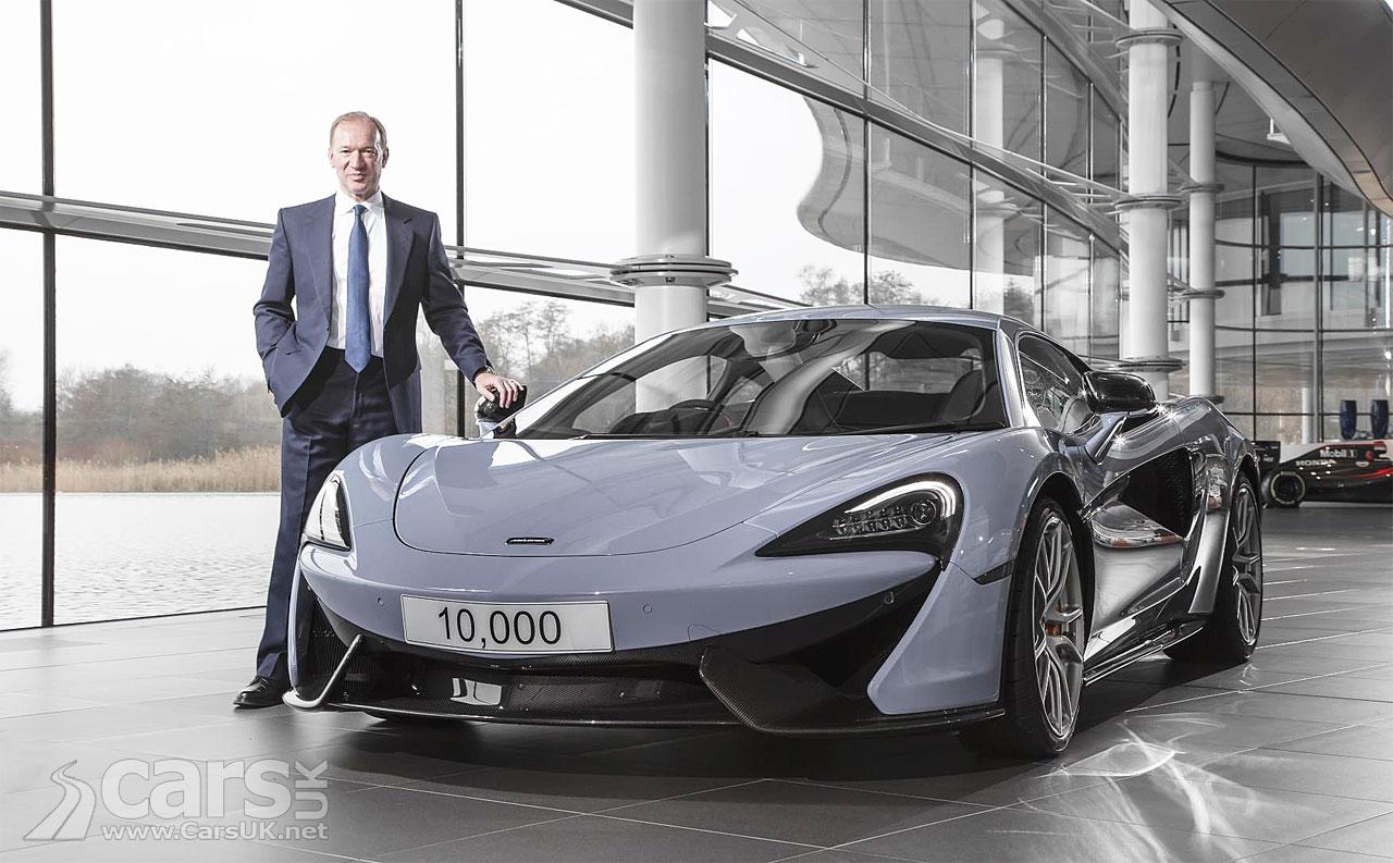 Photo McLaren 10000 sales