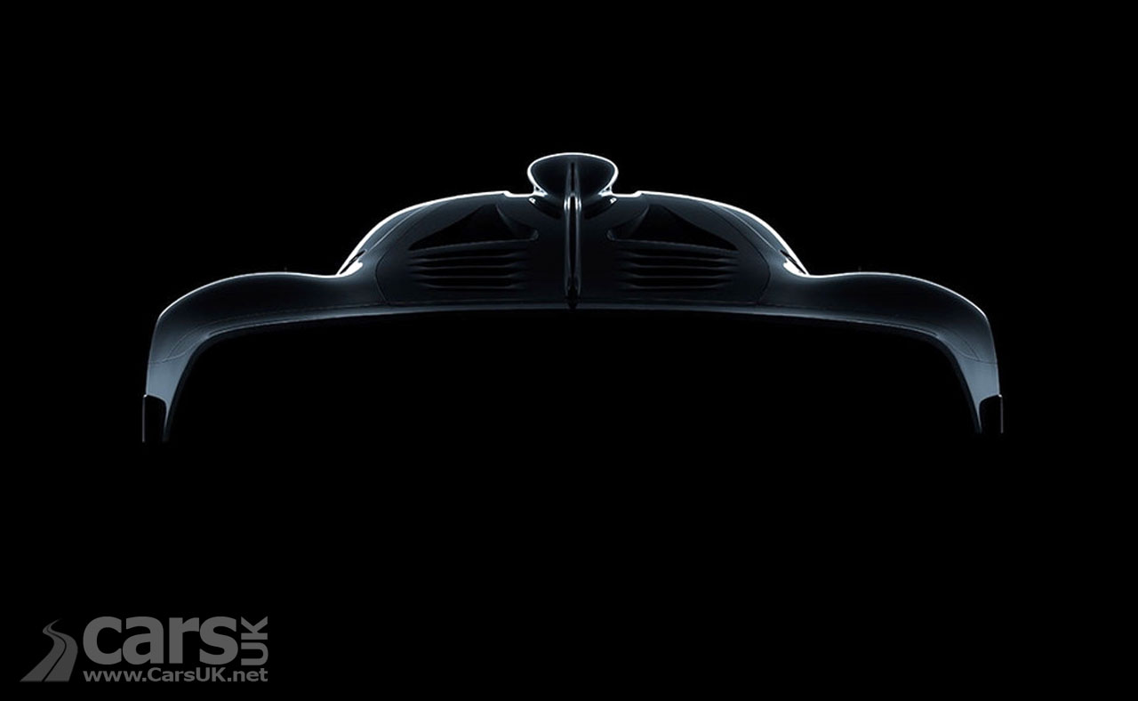 Photo Mercedes-AMG Project One hypercar tease