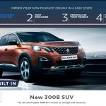 "New Peugeot sales in the UK now ONLINE with ""Order Online by Peugeot"""