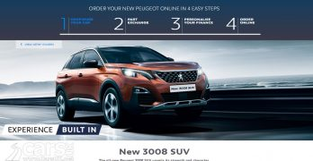 """New Peugeot sales in the UK now ONLINE with """"Order Online by Peugeot"""""""