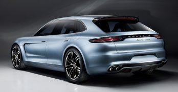 Porsche Panamera Sport Turismo DEFINITELY heading for Porsche's Geneva stand