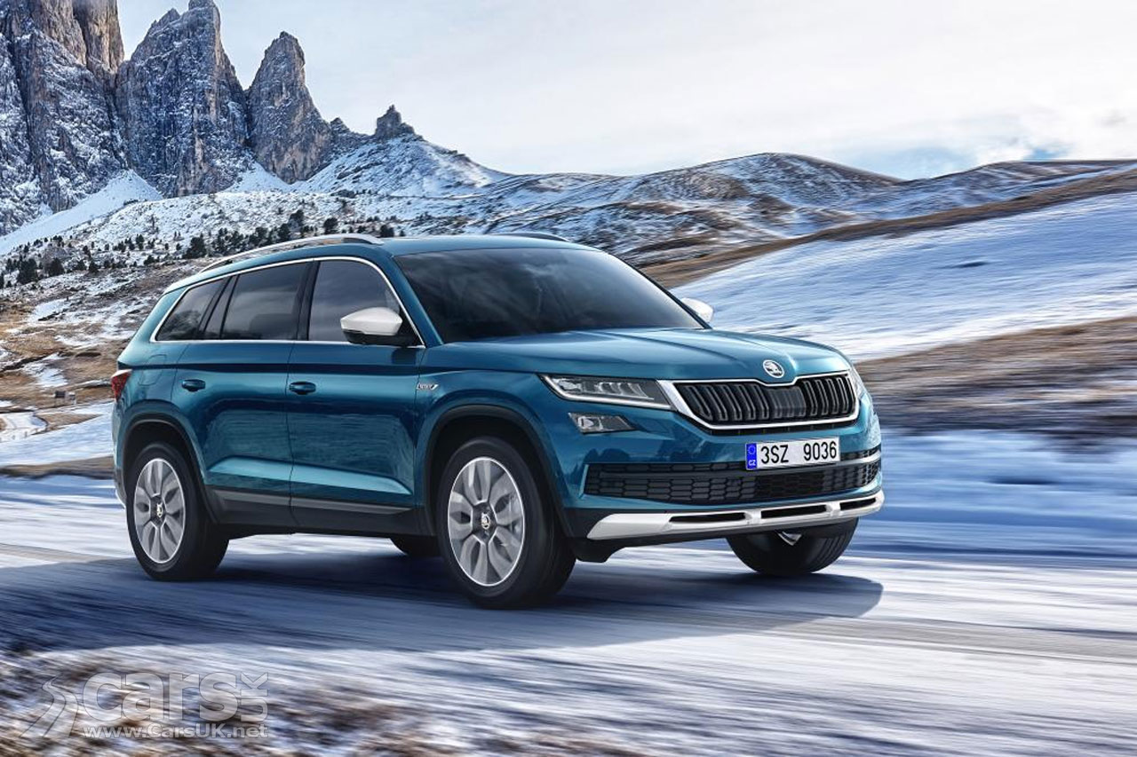 skoda kodiaq scout a kodiaq with off road attitude cars uk. Black Bedroom Furniture Sets. Home Design Ideas