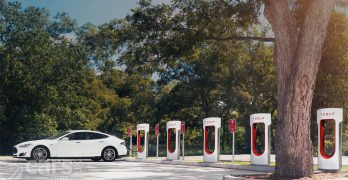 Tesla Supercharger prices set at £0.20 per kilowatt hour in the UK