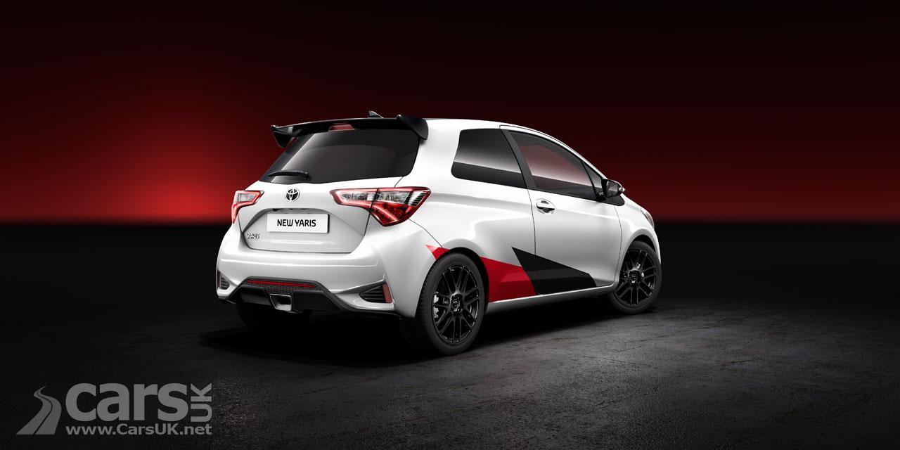 Photo Toyota Yaris Gazoo Rear