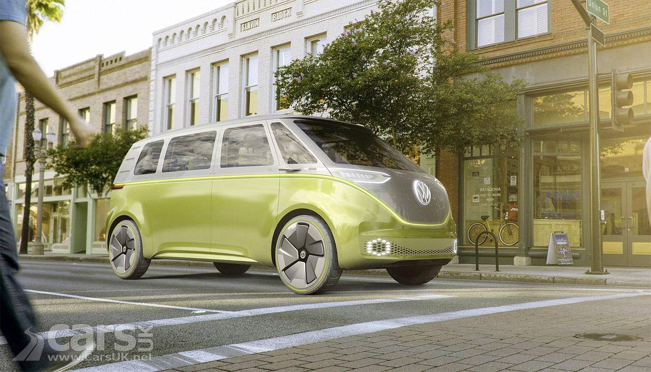 Volkswagen I.D. Buzz Electric Microbus Concept