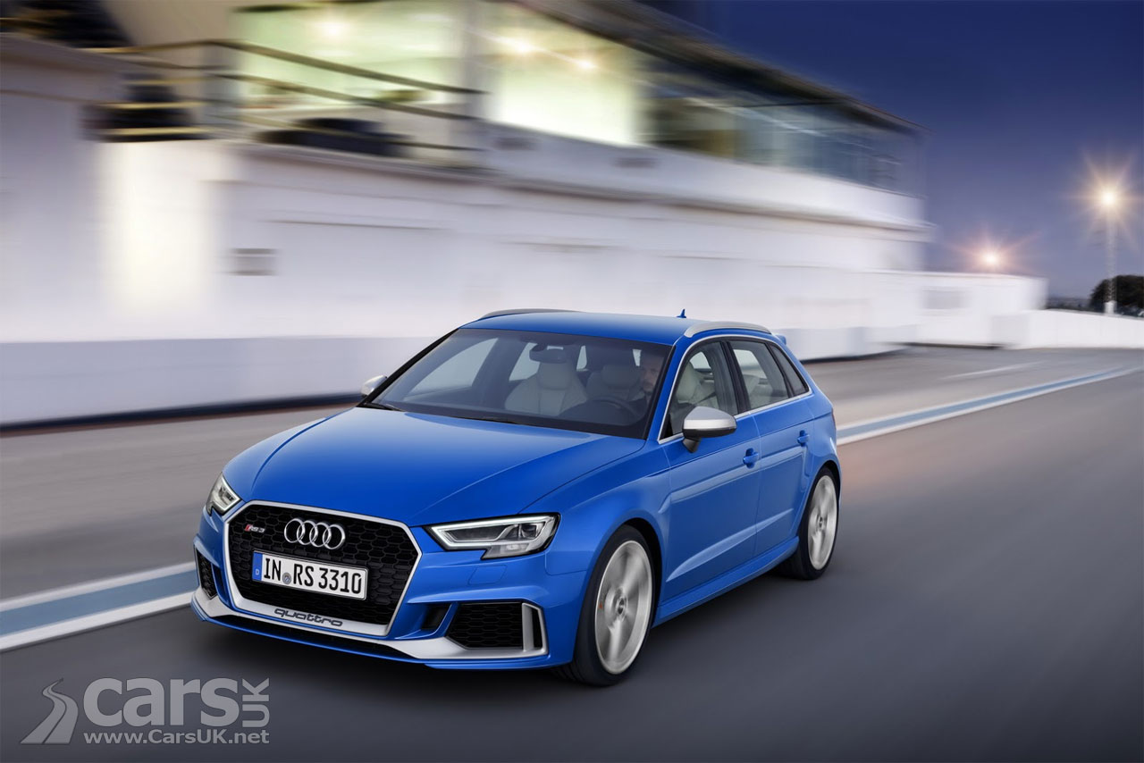 2017 audi rs3 sportback aims to trump the mercedes a 45. Black Bedroom Furniture Sets. Home Design Ideas