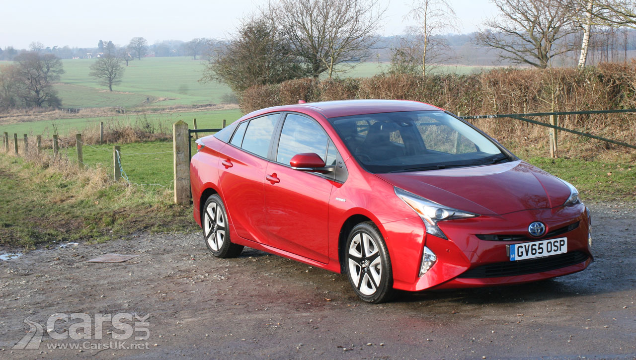 Toyota Prius Excel Review 2017 The 4th Generation Prius Reviewed