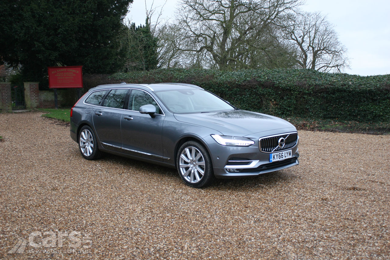 Photo 2017 Volvo V90 D5 Pulse Awd Inscription Review