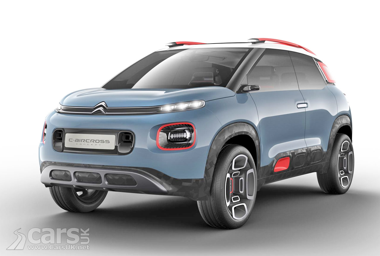 citroen c aircross concept previews the c3 picasso 39 s. Black Bedroom Furniture Sets. Home Design Ideas