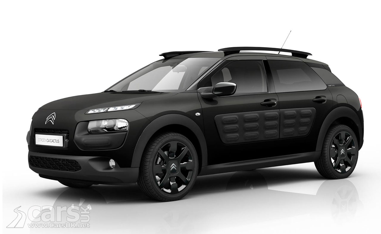 citroen c4 cactus onetone launches it 39 s a c4 cactus black priced from 19 020 video cars uk. Black Bedroom Furniture Sets. Home Design Ideas