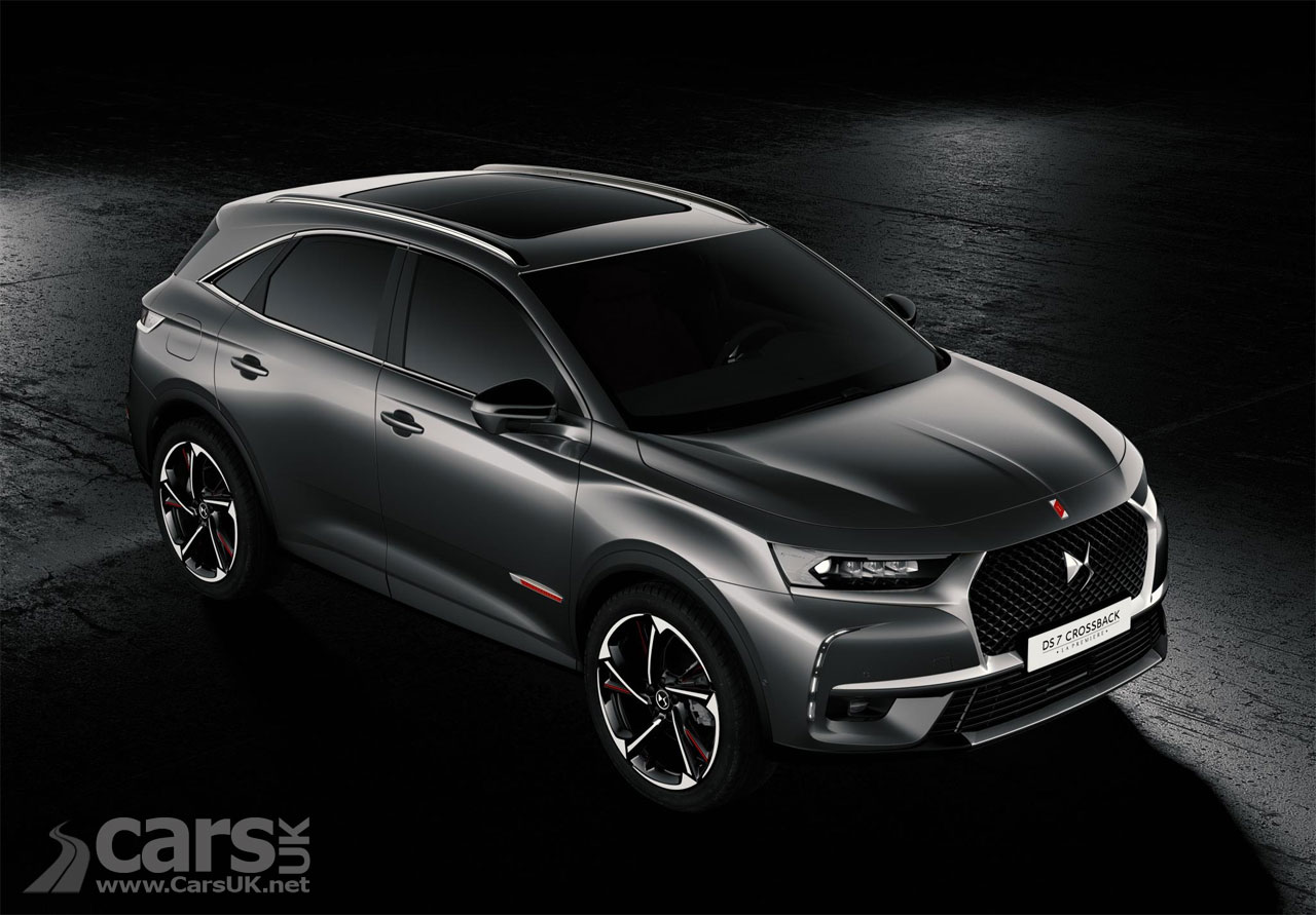 ds 7 crossback arrives as citroen 39 s posh ds brand goes suv cars uk. Black Bedroom Furniture Sets. Home Design Ideas