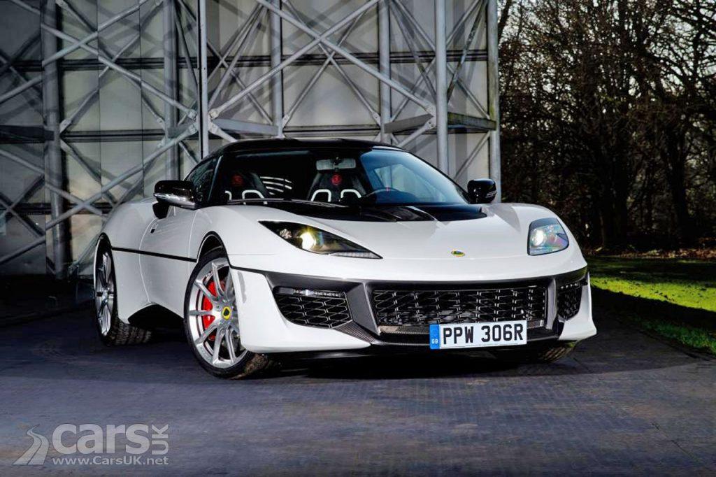 Photo Lotus Evora Sport 410 in homage to the Bond Esprit