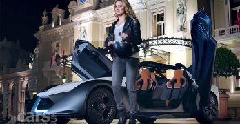 New Nissan EV Ambassador Margot Robbie races the BladeGlider EV round Monaco (video)