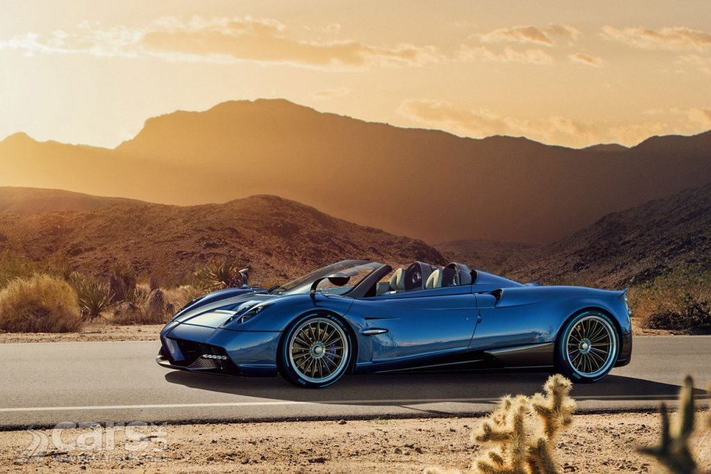 Photo Pagani Huayra Roadster