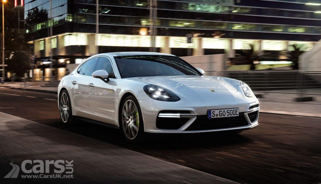 Photo Porsche Panamera Turbo S E-Hybrid