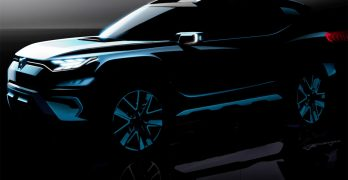 SsangYong XAVL 7-Seat SUV Concept teased ahead of Geneva with first photos