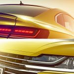 Volkswagen Arteon – the VW CC's replacement – teased ahead of Geneva debut