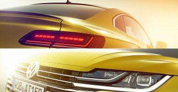 Volkswagen Arteon – the VW CC's replacement – teased ahead of Geneva debut