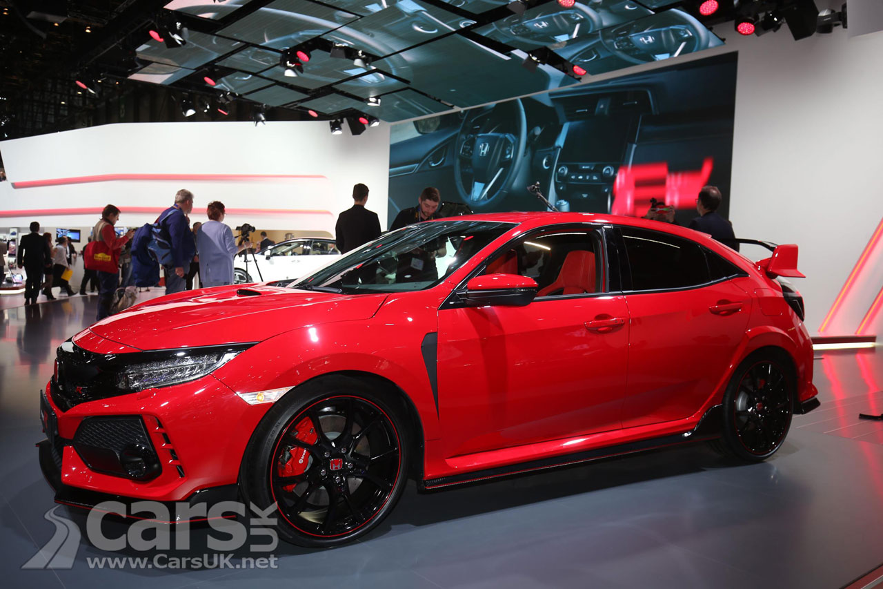 new honda civic type r arrives in geneva just 2 years. Black Bedroom Furniture Sets. Home Design Ideas