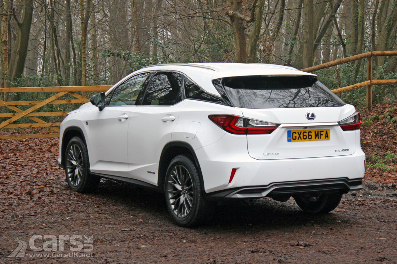 Photo Lexus Rx 450h F Sport Rear