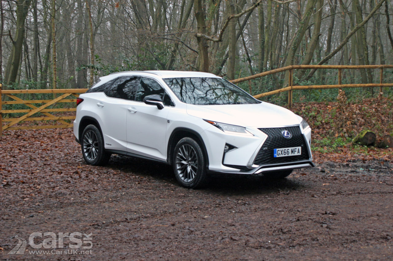 Lexus Rx 450h F Sport Review 2017