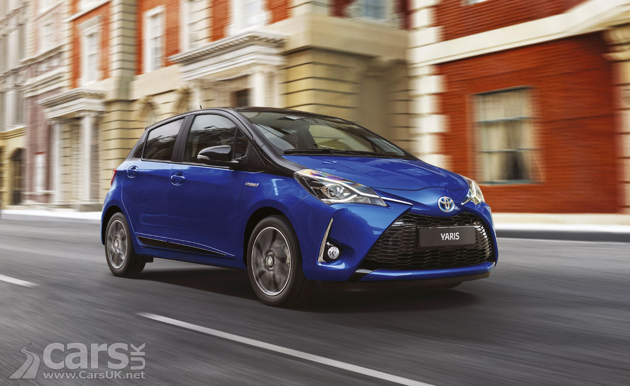 2017 toyota yaris facelift with new engine and new trim levels priced from 12 495 in the uk. Black Bedroom Furniture Sets. Home Design Ideas