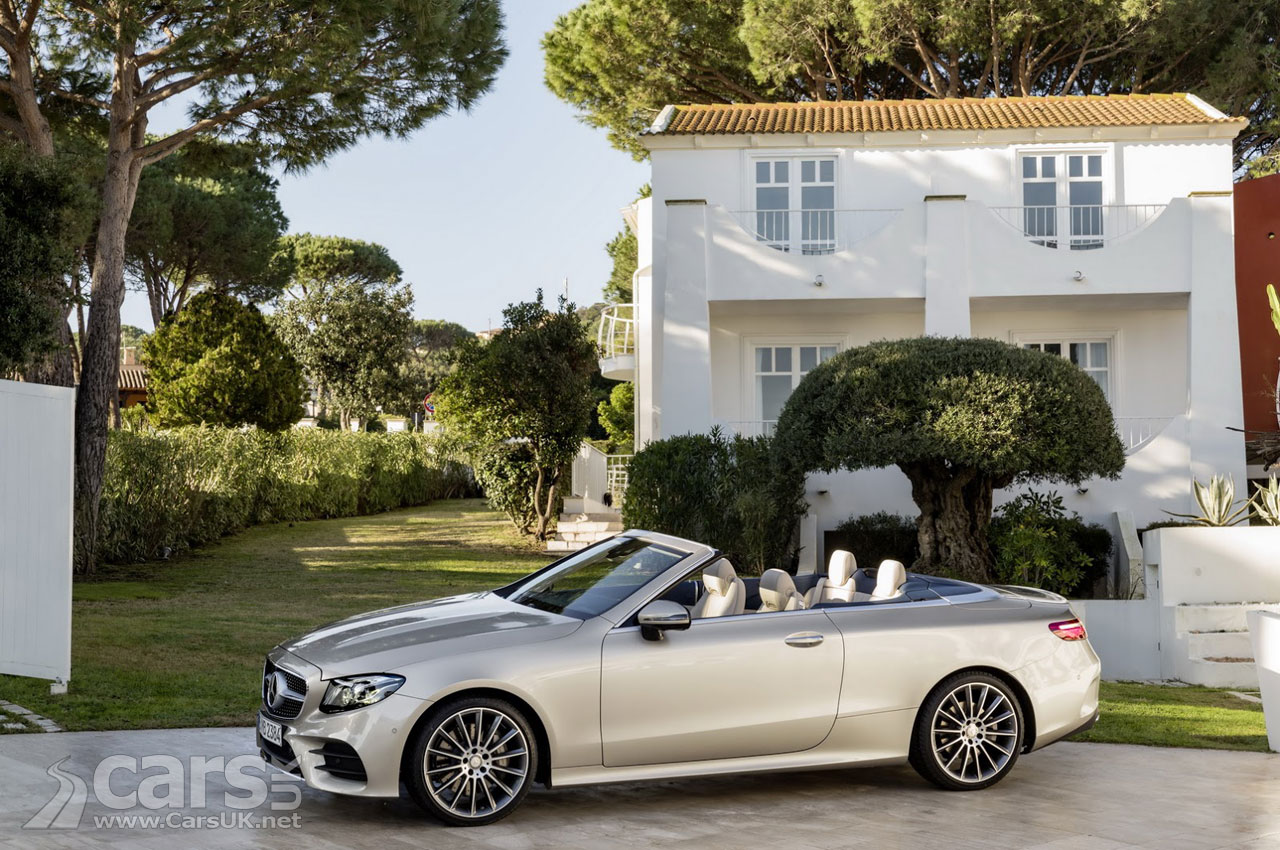 2017 mercedes benz e class cabriolet completes the new e class range cars uk. Black Bedroom Furniture Sets. Home Design Ideas