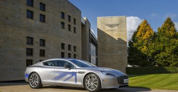 800 bhp Electric Aston Martin RapidE nearly here – but will then get replaced by a Lagonda